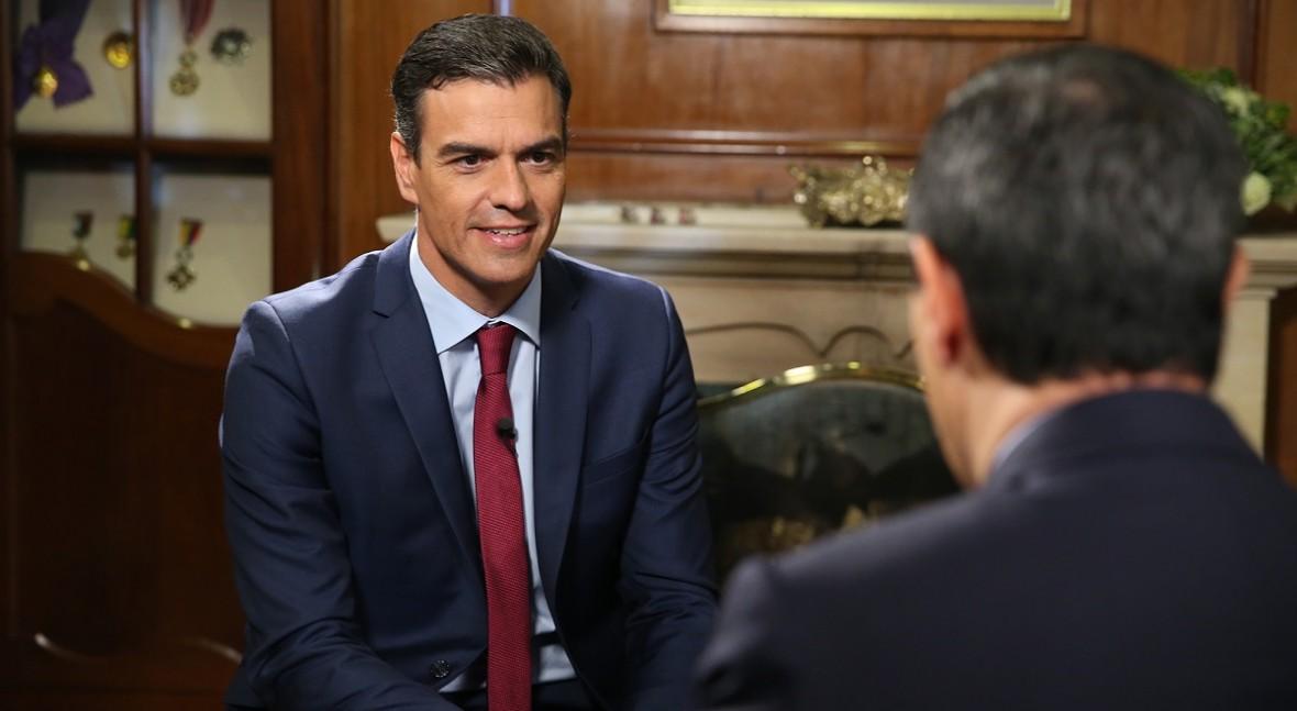 """Pedro Sánchez: """"España y Colombia deben reforzar cooperación caso Canal Isabel II"""""""