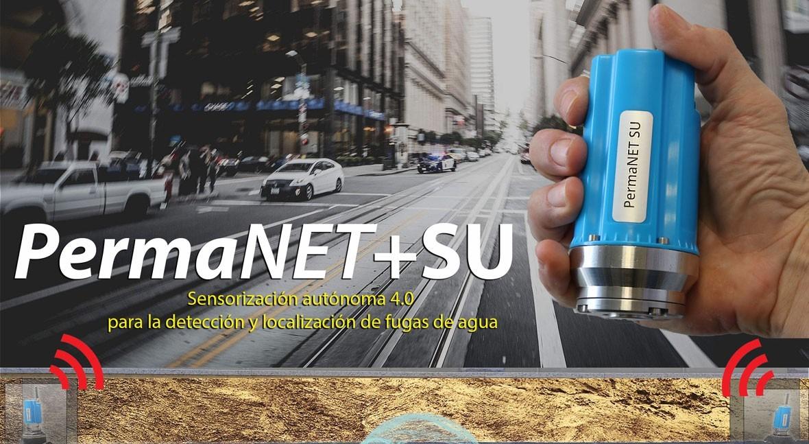 PERMANET+: sensorización automática 4.0 detección y localización fugas agua