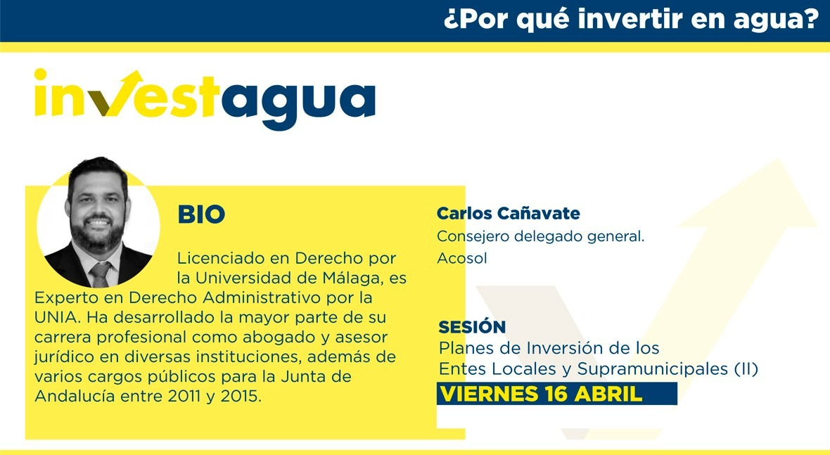 Acosol advierte INVESTAGUA que seguridad hídrica no habrá crecimiento