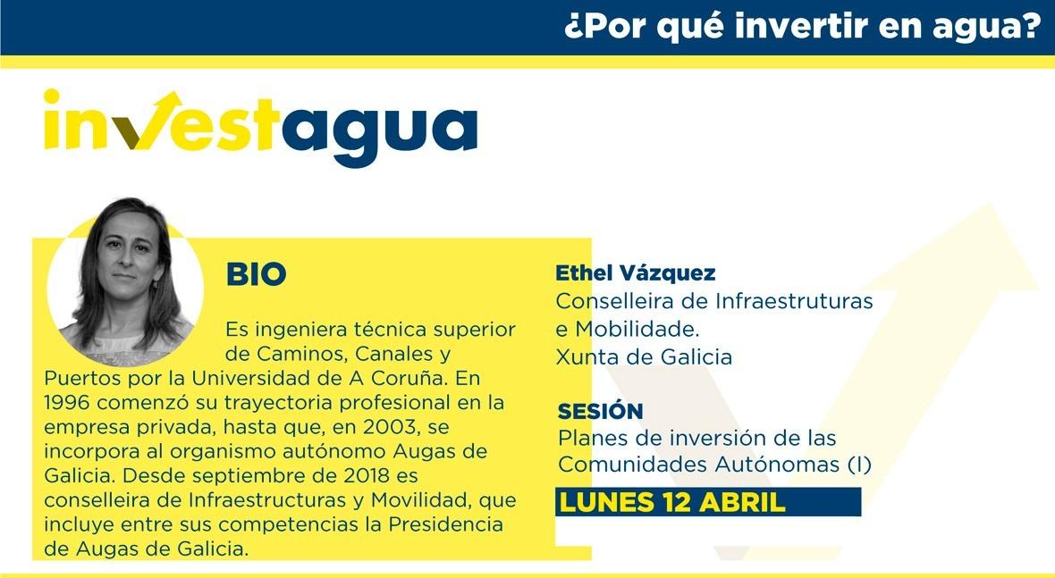 Ethel Vázquez anuncia INVESTAGUA inversión 150 millones saneamiento rías