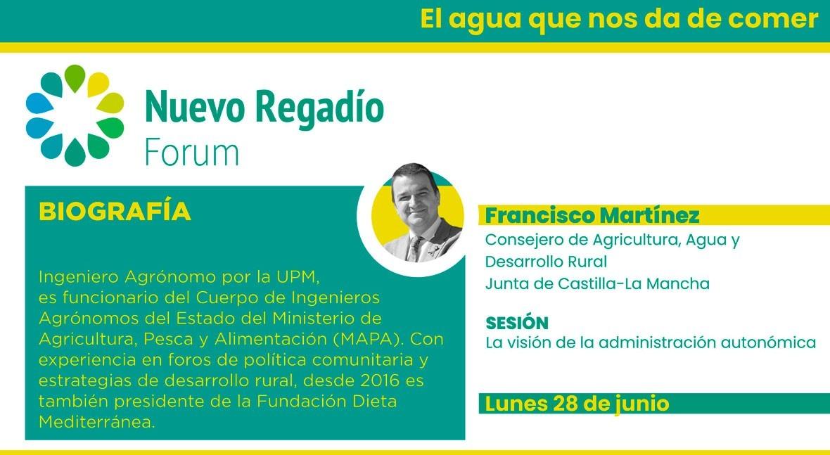 Castilla- Mancha destaca NRF carácter proactivo Pacto Nacional Agua