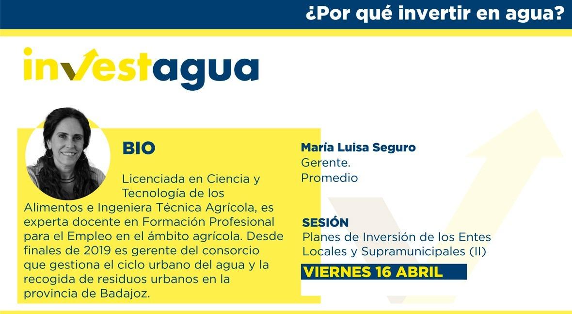 """Promedio muestra INVESTAGUA modelo solidario dar """"servicios ciudad al mundo rural"""""""