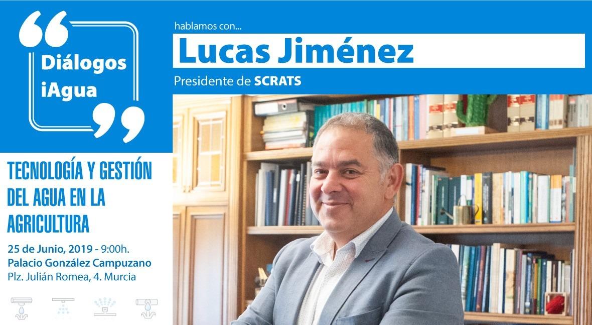 Lucas Jiménez (SCRATS) protagonizará Diálogo iAgua presentación iAgua Magazine 23