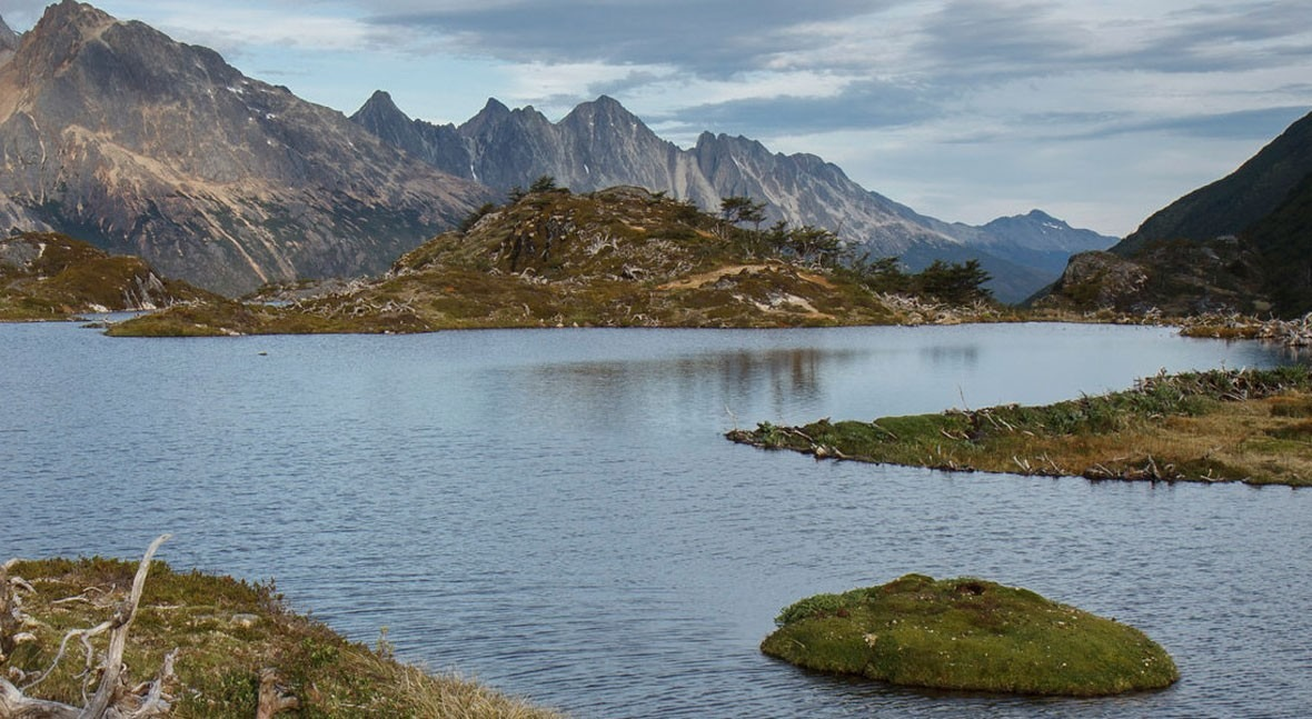 Tierra Fuego: agua que guarda secretos vida
