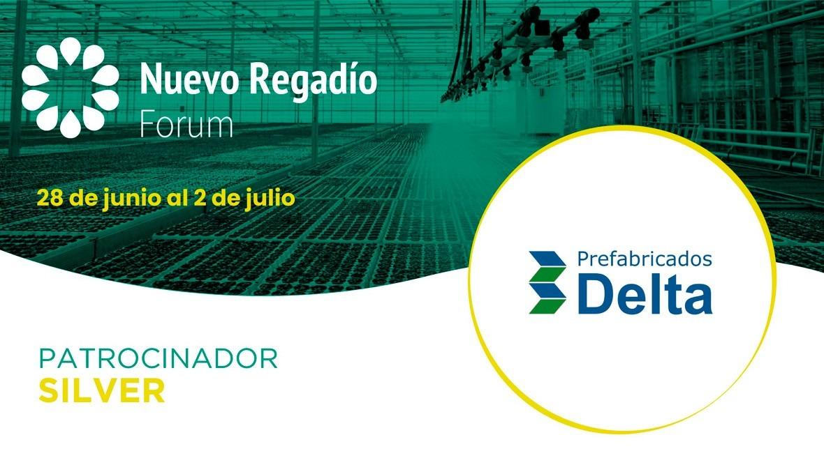 Prefabricados Delta, referente mercado español, Silver Sponsor Nuevo Regadío Forum