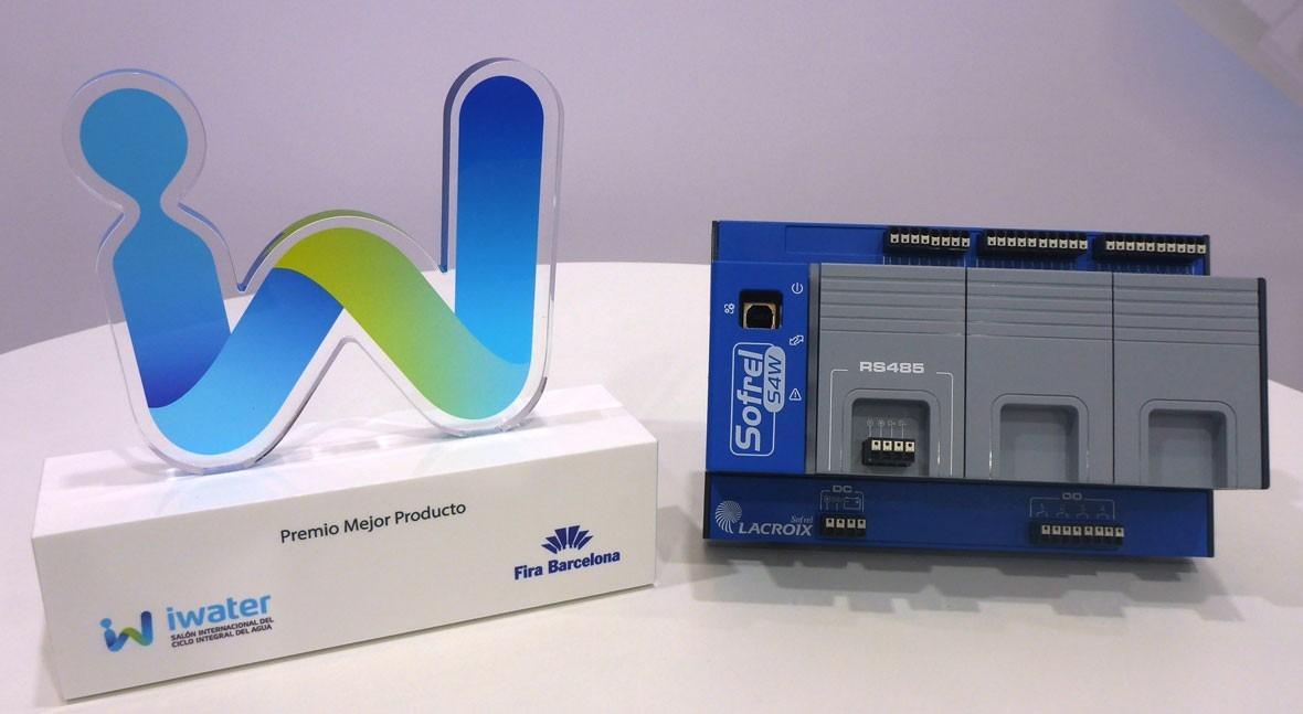 Sofrel gana Iwater premio al mejor producto equipo telegestión 4.0.: Sofrel S4W