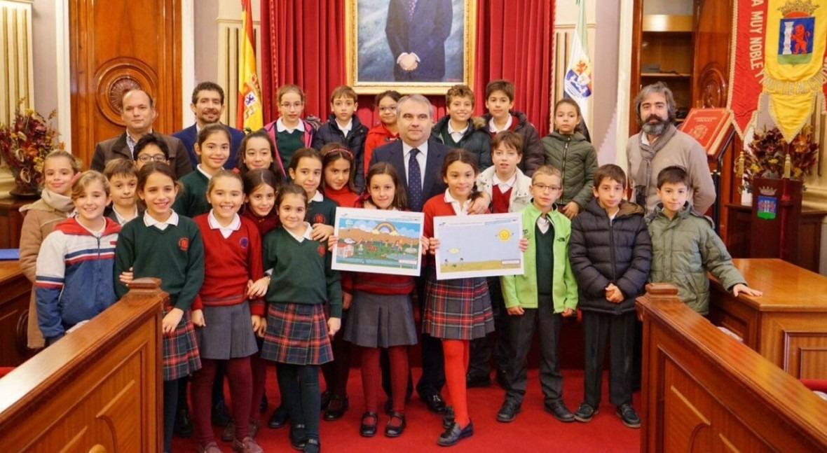 Aqualia celebra entrega premios Concurso internacional dibujo infantil Badajoz