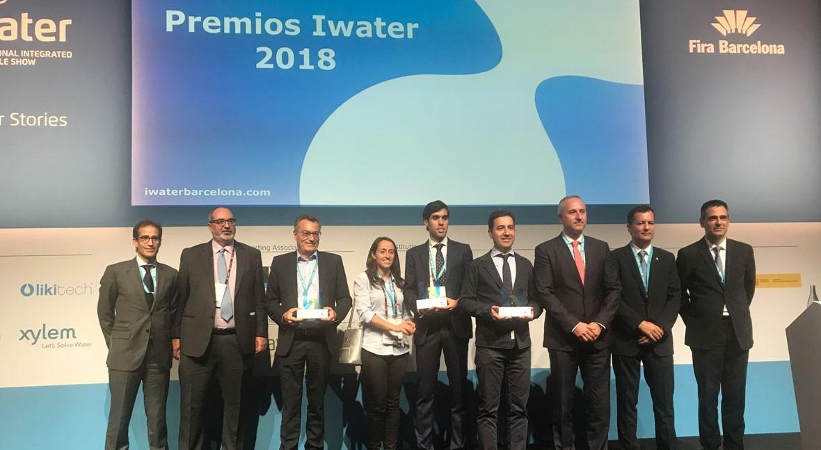 Sofrel Lacroix, Contazara y Socamex ganan Premios Iwater 2018