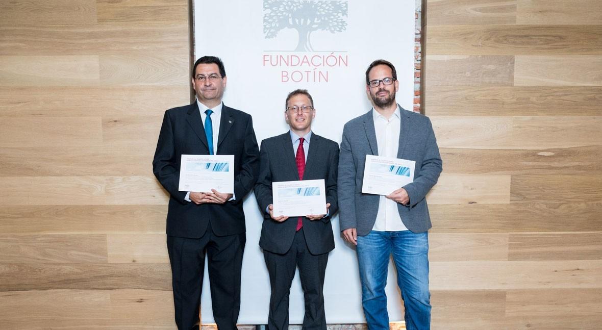 Fundación Botín entrega Premios al Talento Joven Gestión Sostenible Agua 2018
