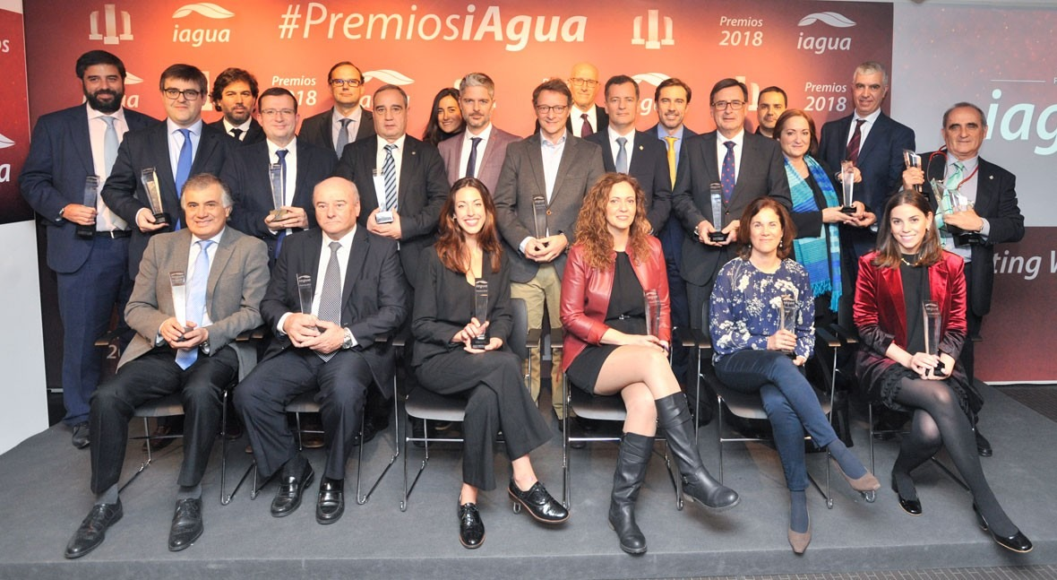 Todos ganadores Premios iAgua 2018