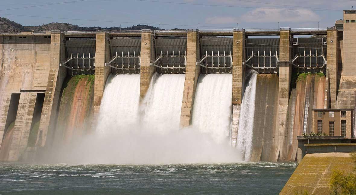 reserva hidráulica española, al 54,7 % capacidad