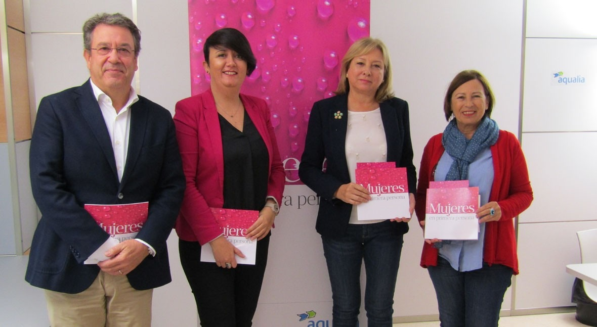 "Aqualia presenta Ibiza libro ""Mujeres primera Persona"""