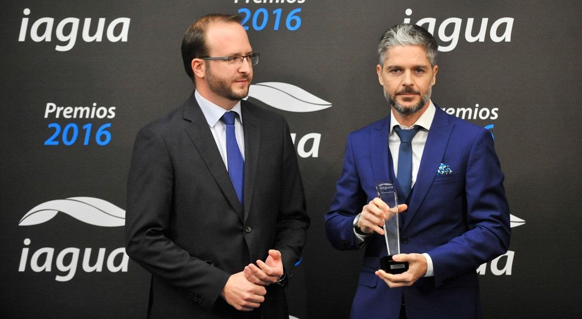 Carlos Garriga, galardonado Premio iAgua Mejor Presentación