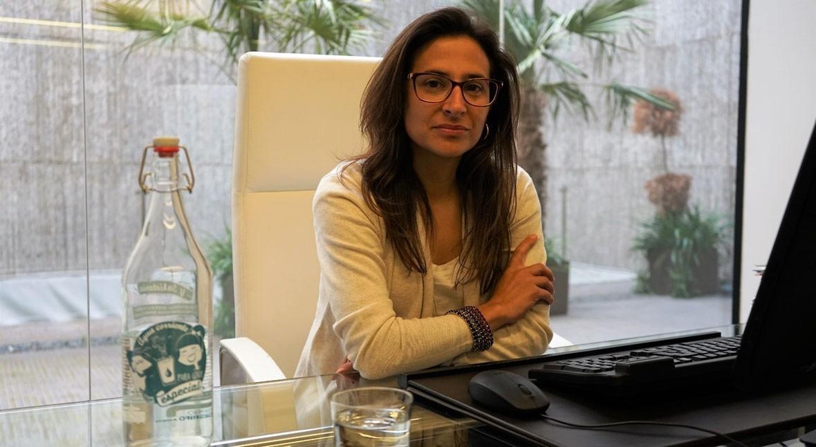"""María José Martín Murillo: """" agua grifo es mil veces más barata que agua embotellada"""""""