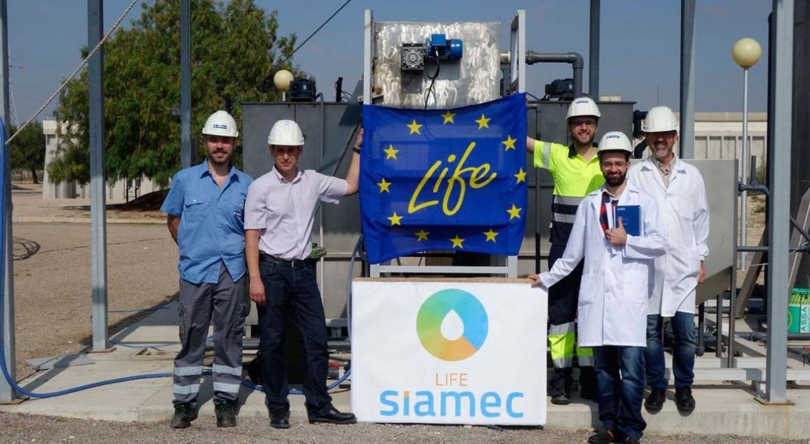 Visita técnica al prototipo Mediterráneo proyecto LIFE SIAMEC