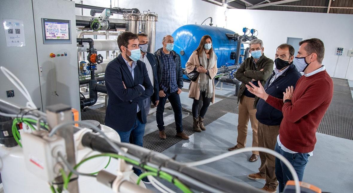 Rafelbunyol estrena renovada planta ósmosis inversa última generación tecnológica