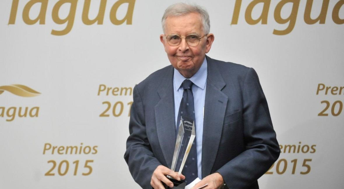 iAgua otorga 'Premio Trayectoria' al profesor Ramón Llamas