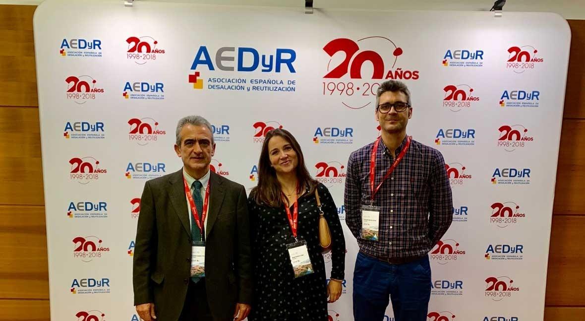 GS Inima presenta proyecto recuperación salmueras XII Congreso AEDYR