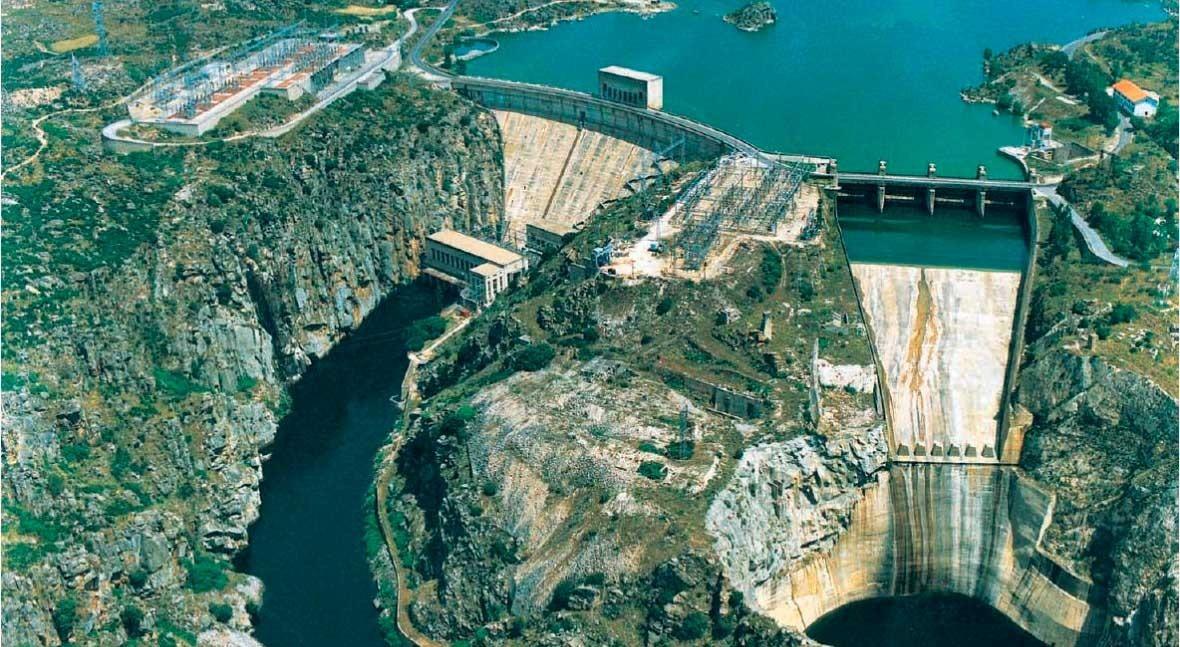 reserva hidráulica española, al 60,7 % capacidad total
