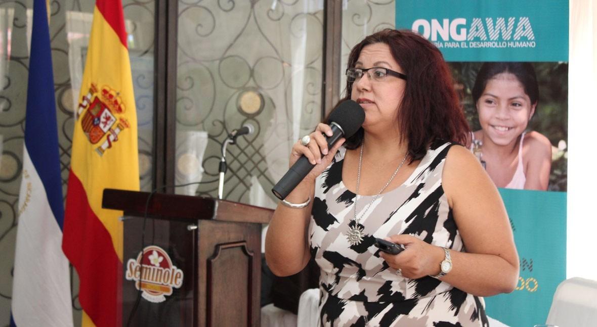 """Rosa Sáenz: """" trabajo que hacemos Nicaragua esperamos inspirar otras mujeres"""""""