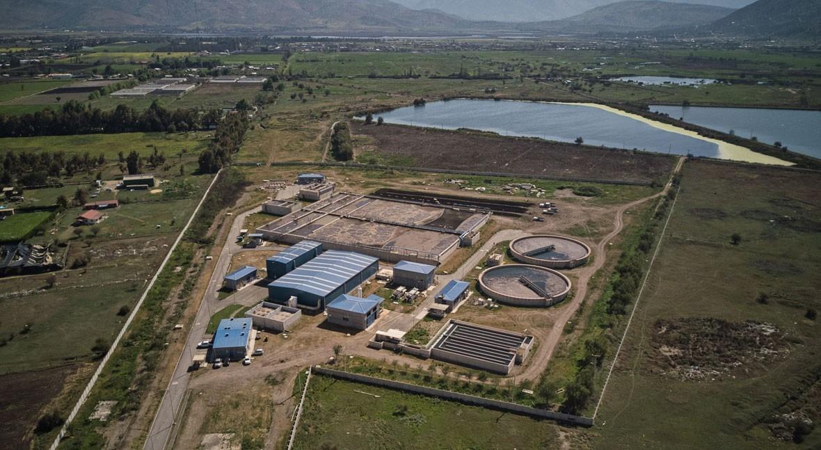 Estación Depuradora de Aguas Servidas PTAS La Candellada.