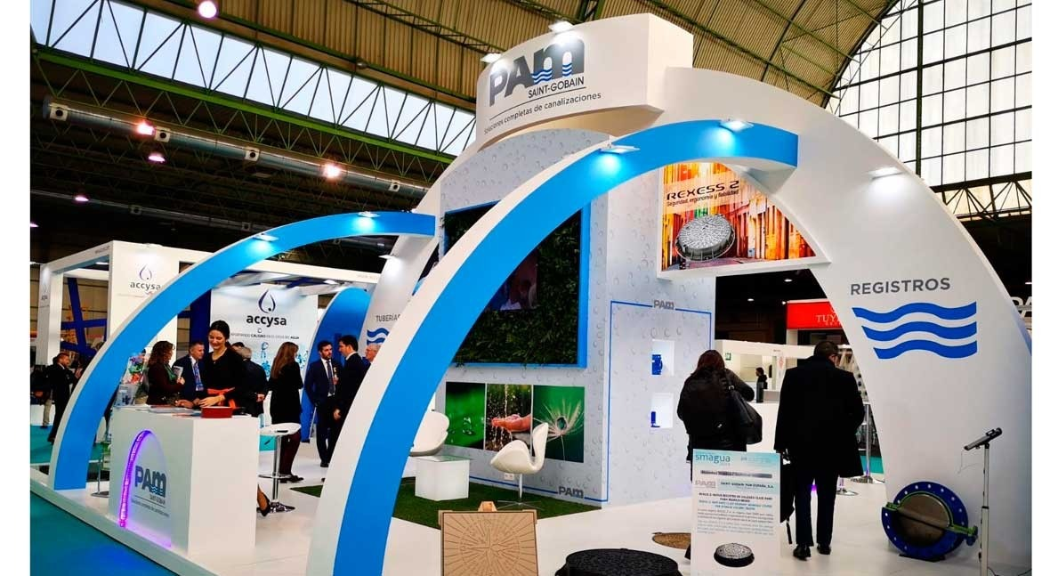 Saint-Gobain PAM vuelve ser referente SMAGUA 2019