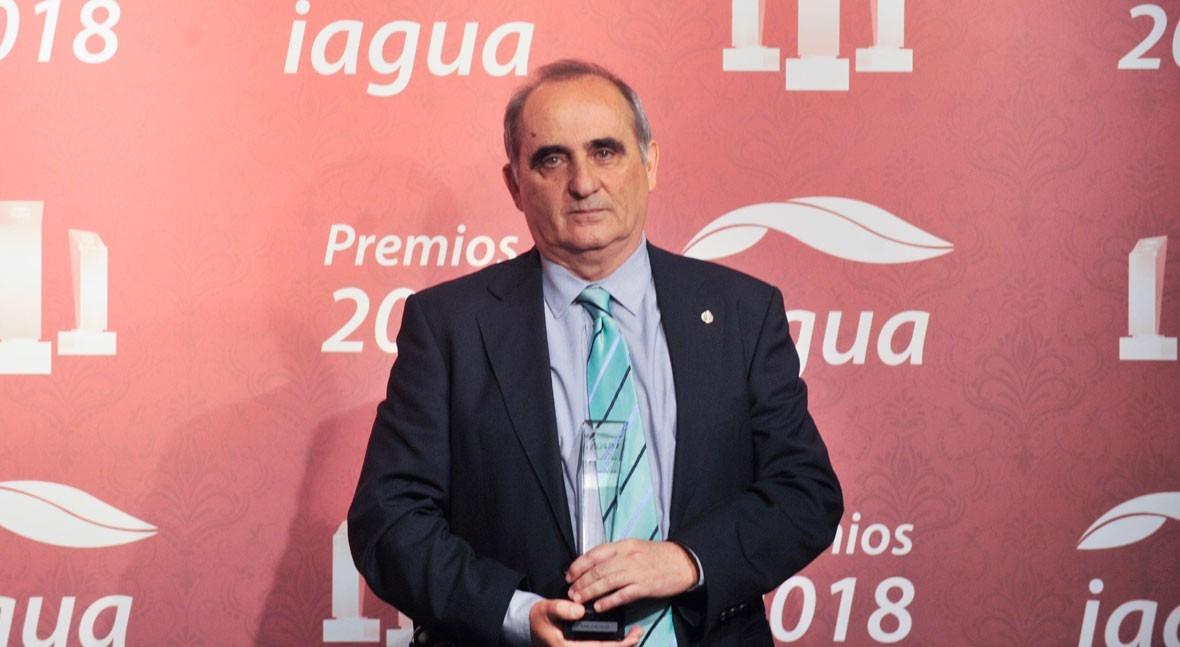 Juan José Salas se corona como ganador Mejor Blog Premios iAgua 2018