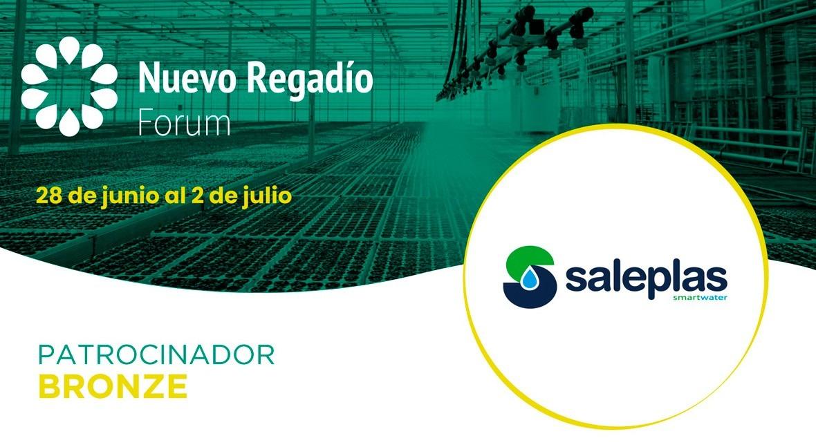 Saleplas, especialistas innovación agricultura, Bronze Sponsor Nuevo Regadío Forum