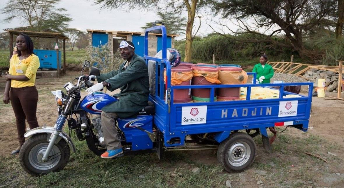 Kenia apuesta energía solar transformar desechos fecales bloques combustible