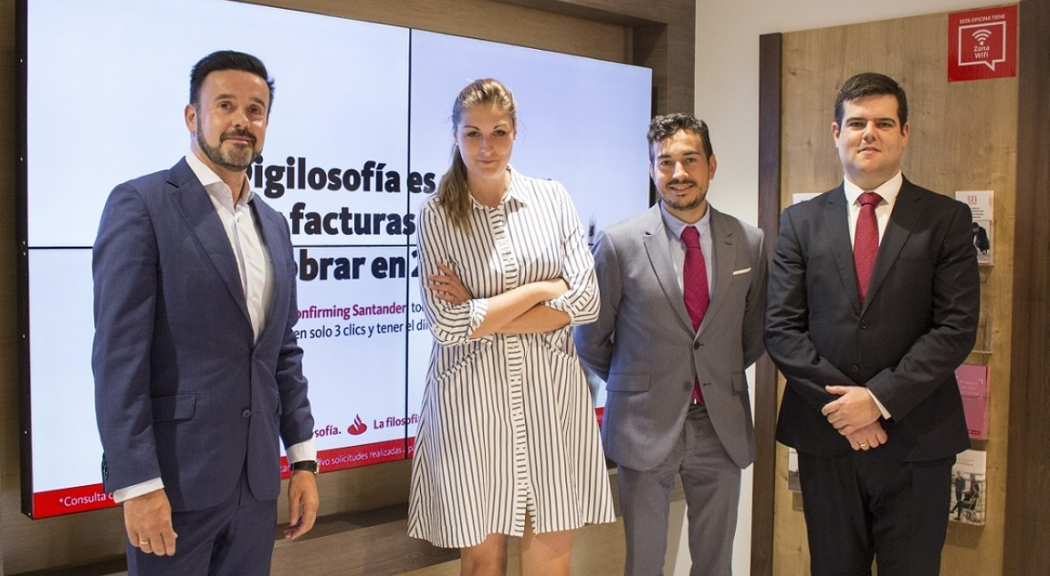Santander apoya expansión internacional iAgua