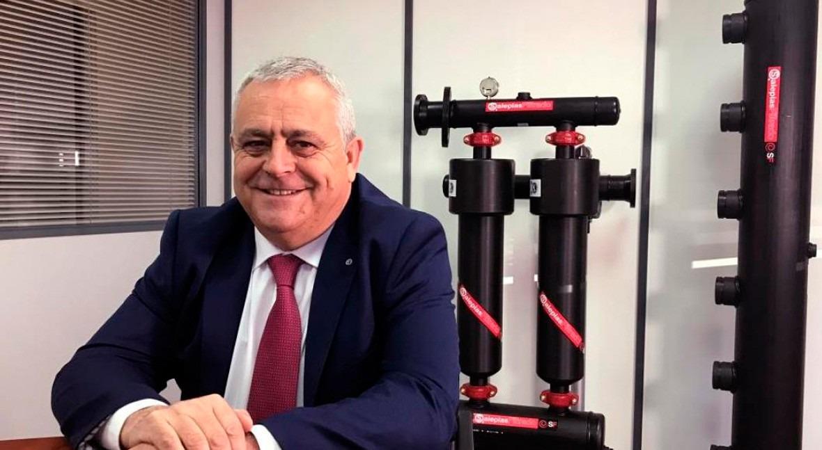 """Santos Gómez Carreño: """" nuevas tecnologías sector deben ayudar ahorrar agua y energía"""""""