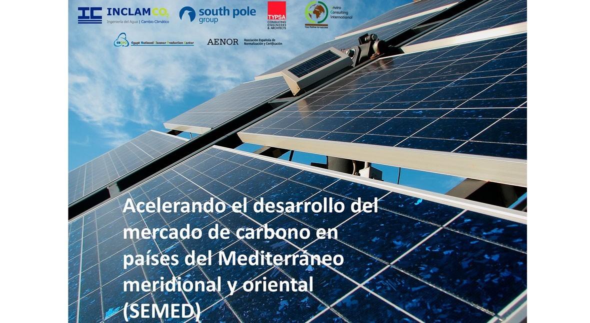 Acelerando desarrollo mercado carbono países Mediterráneo meridional y oriental