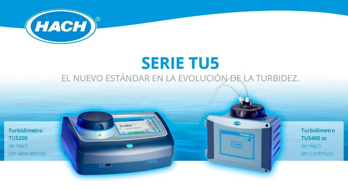Turbidímetros Serie TU5 Hach: nuevo estándar evolución turbidez