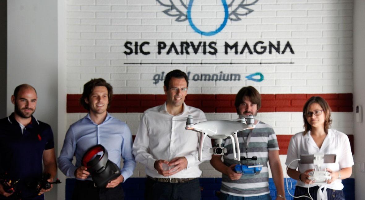 Global Omnium incorpora incubadora 2 nuevas startups especialistas drones