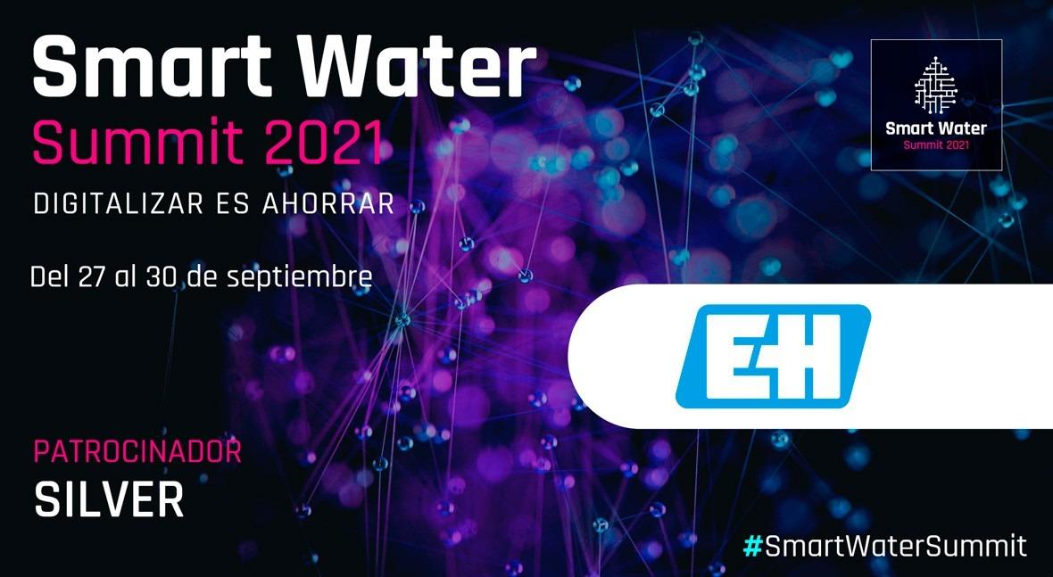 Endress+Hauser será Silver Sponsor Smart Water Summit 2021
