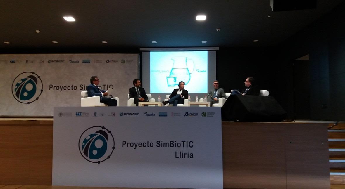 Aqualia presenta SimBioTIC cómo conseguir gestión sostenible agua Llíria