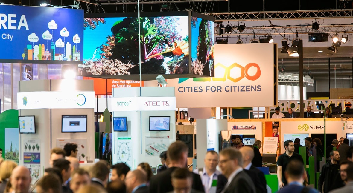 soluciones SUEZ construir ciudades más inteligentes, SMART CITY Expo World Congress