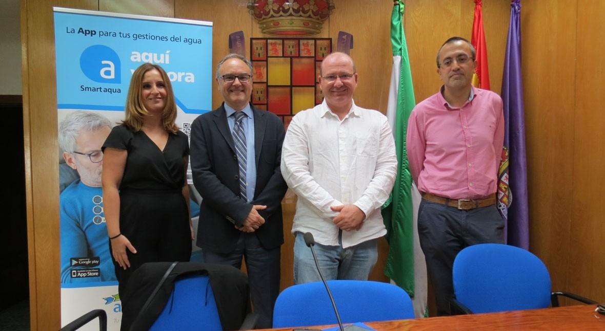 Aqualia presenta Jaén Smart aqua, aplicación más completa Servicio Municipal Agua