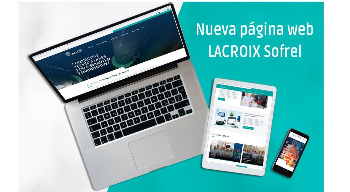 LACROIX Sofrel presenta nueva página web