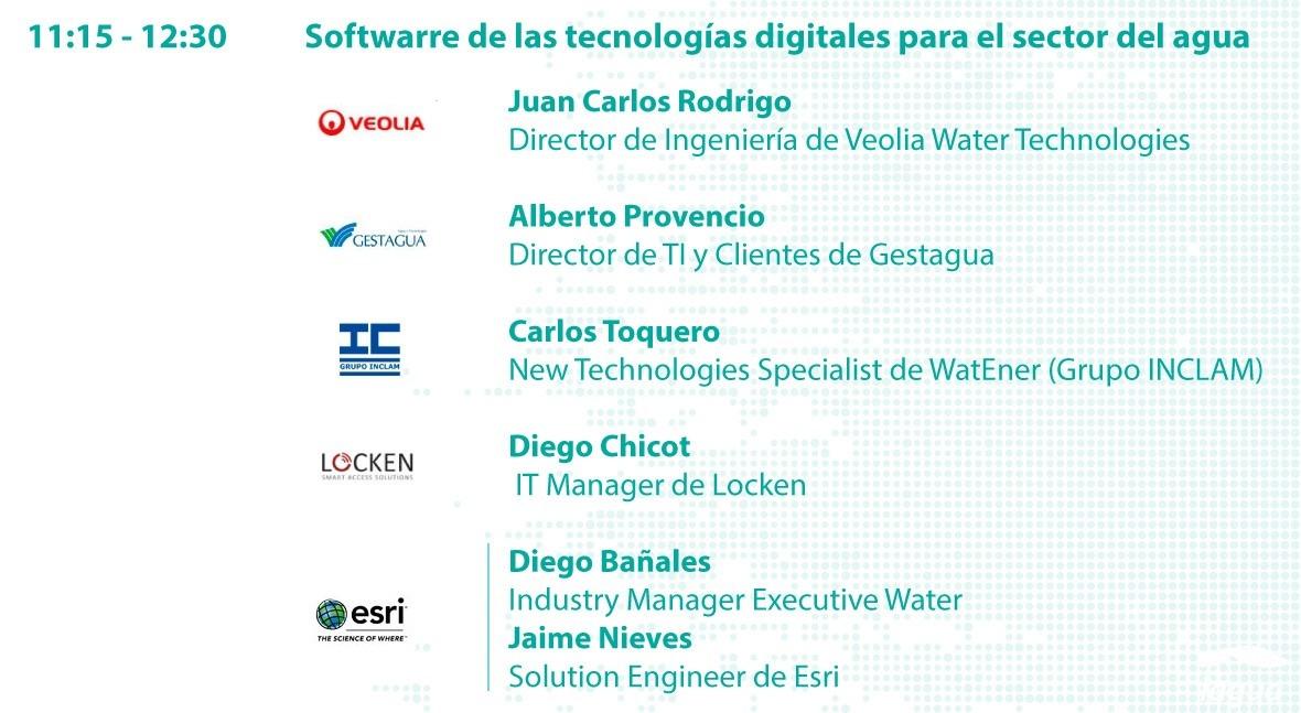 #SmartWaterSummit: Software tecnologías digitales sector agua