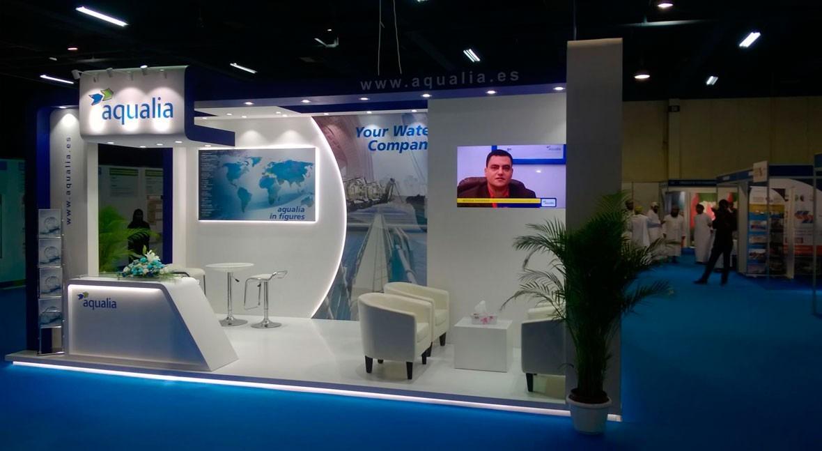 Aqualia se consolida Oriente Medio participación Oman Energy & Water Exhibition