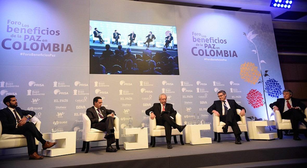 SUEZ participa Foro Beneficios Paz Colombia