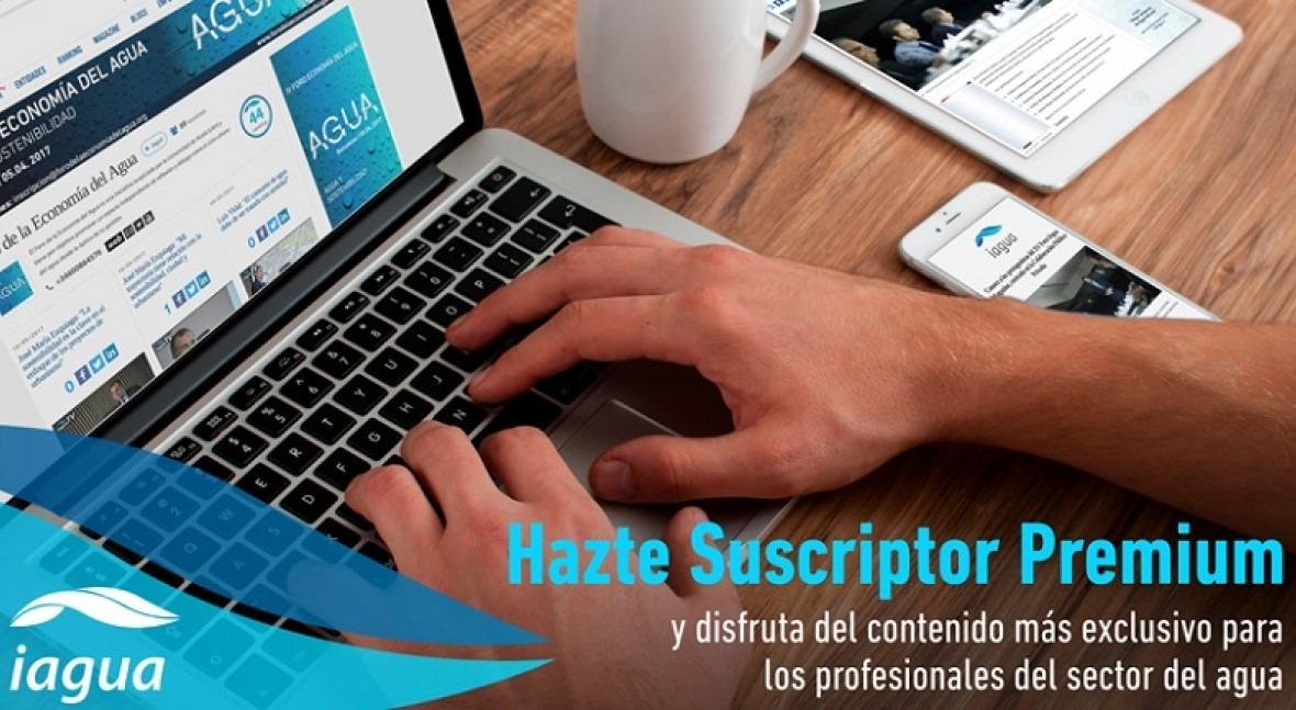 iAgua lanza 3 Suscripciones Premium acceder mejor información sector