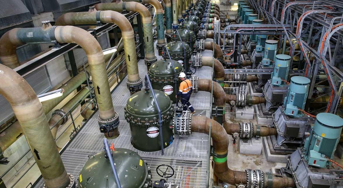 Así es planta desalación Sídney que respondió peor sequía cien años