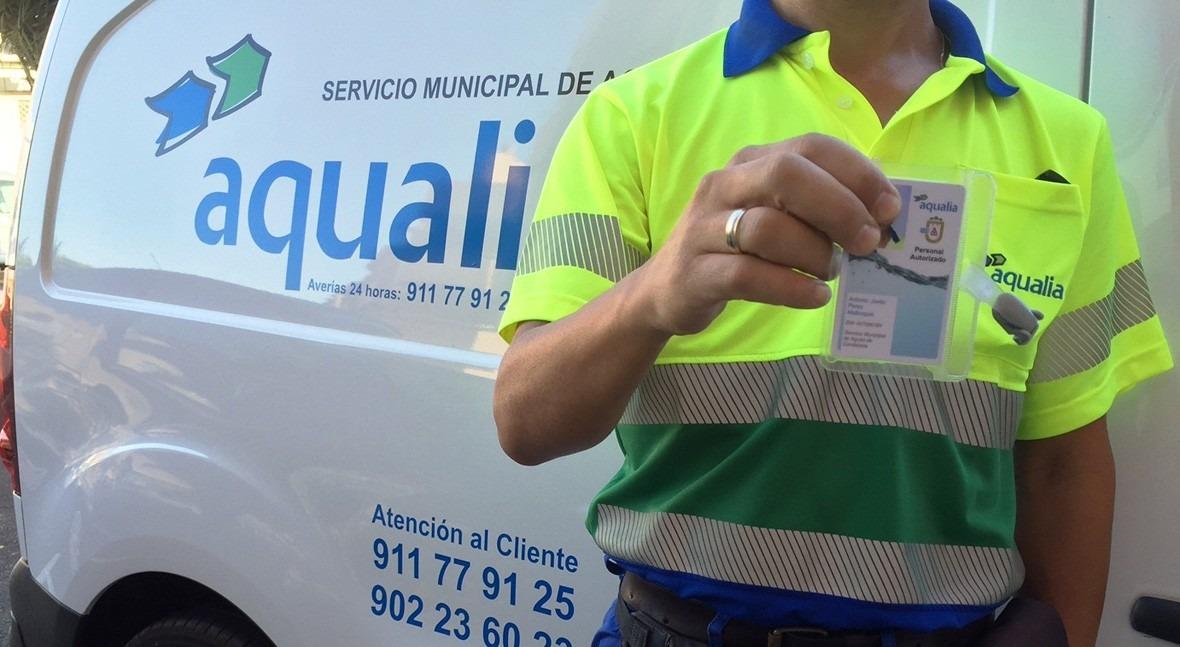 Aqualia comienza campaña renovación contadores agua Candelaria