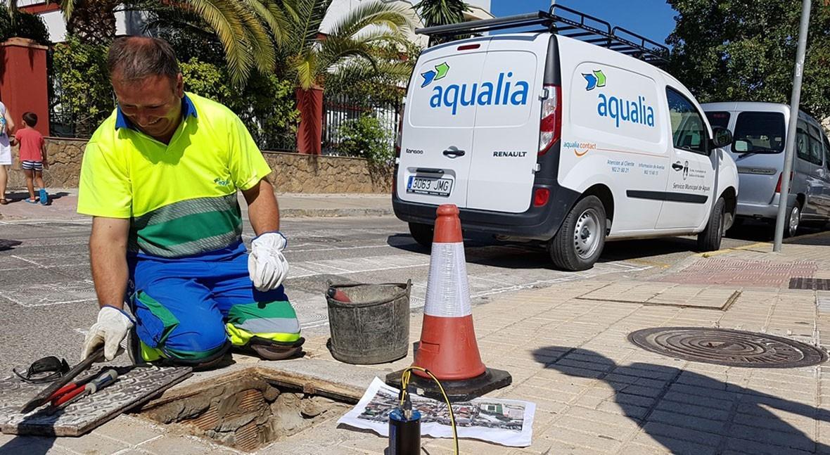 Sensores nocturnos inteligentes minimizan pérdidas agua fugas Sanlúcar