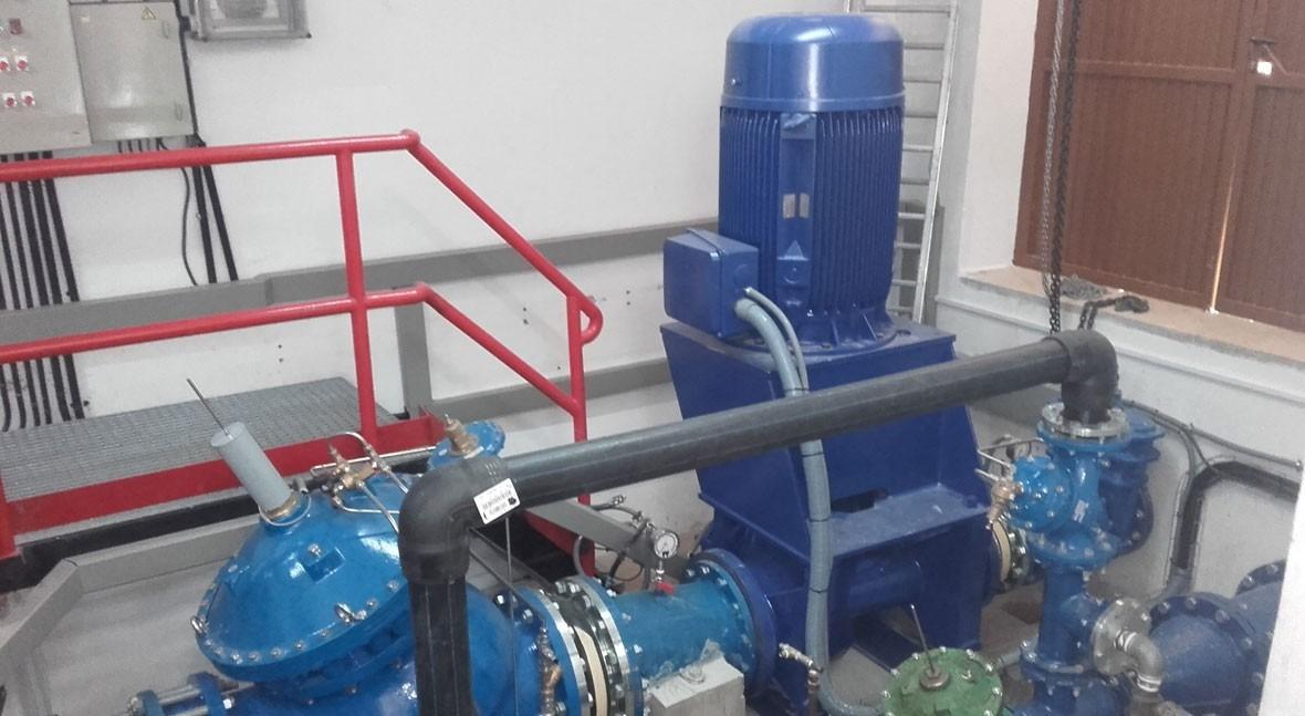 Emasagra pone marcha central minihidráulica recuperar energía tecnología SUEZ