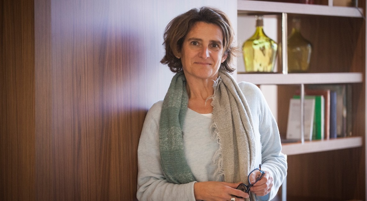 """Teresa Ribera: """" realidad no hay cuencas deficitarias ni excedentarias"""""""