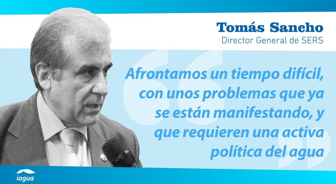 """Tomás Sancho: """"América Latina tiene gran tesoro potencial: abundancia agua"""""""