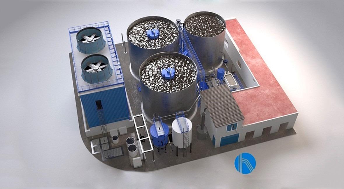 Solución global aguas residuales central biodiesel